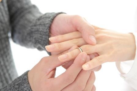 婚約指輪イメージ